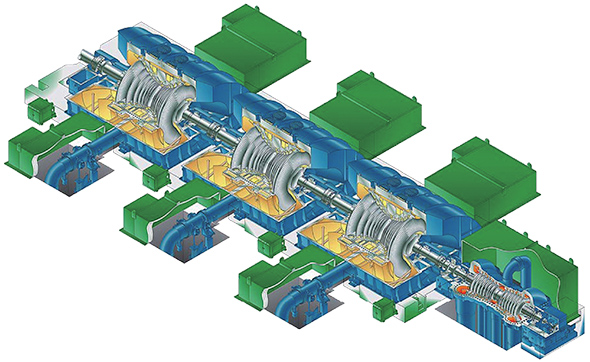 Hitachi Steam Turbines